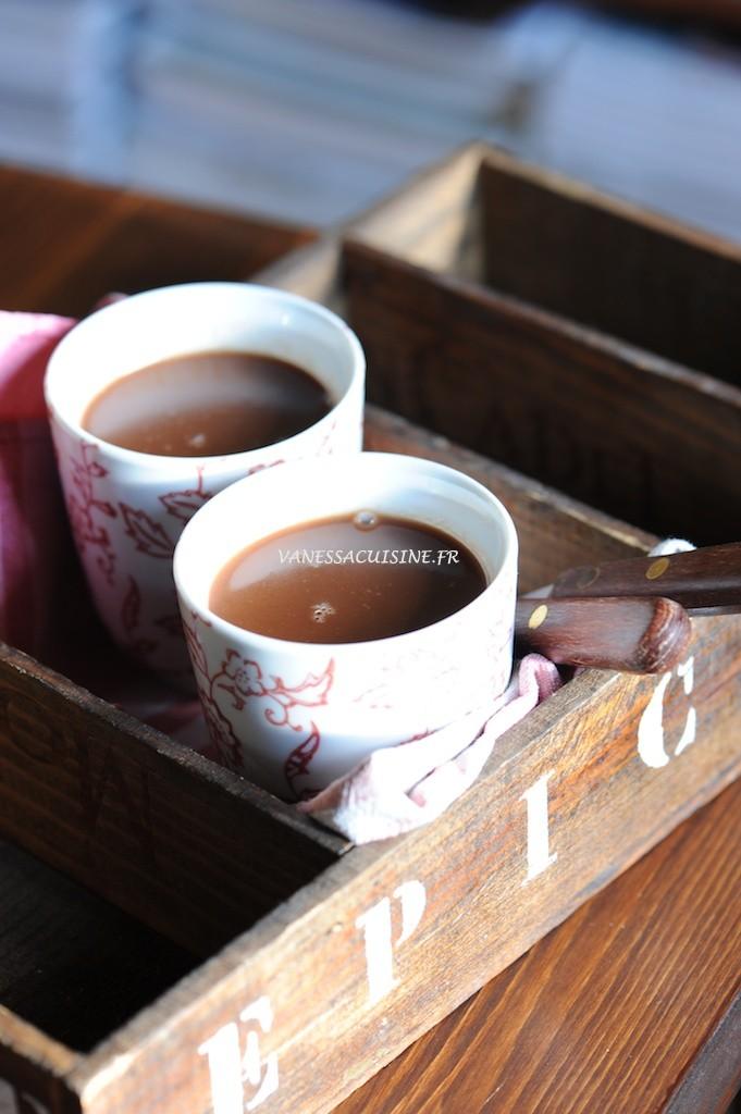 recette de Chocolat chaud au lait des Alpes
