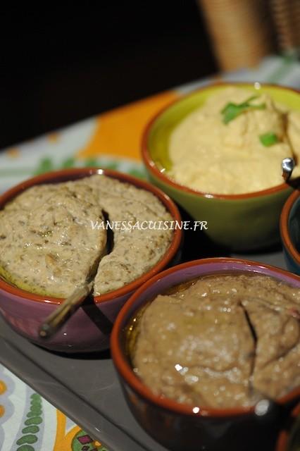 recette de houmous de lentilles vertes