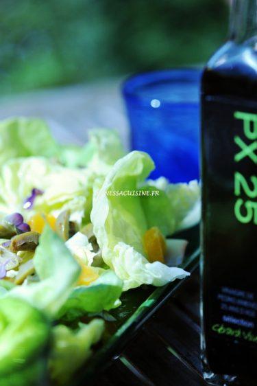 recette de salade à l'orange et olives vertes