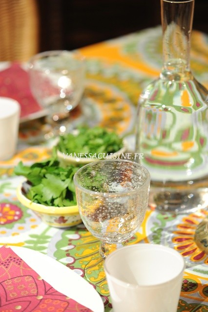 table diner oriental