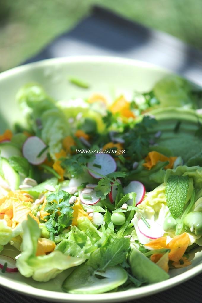 La salade extra-ordinaire !