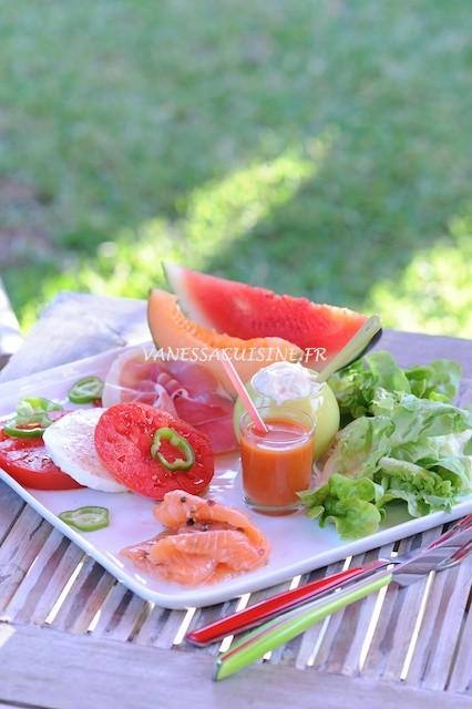 recette de l'assiette estivale du 83 à Avignon