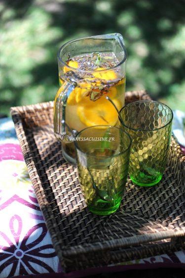recette d'infusions glacées