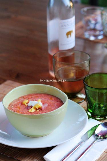 recette de salmorejo de Cordoue