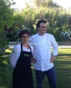 Gagnante du concours de cuisine bio Vanessa Romano