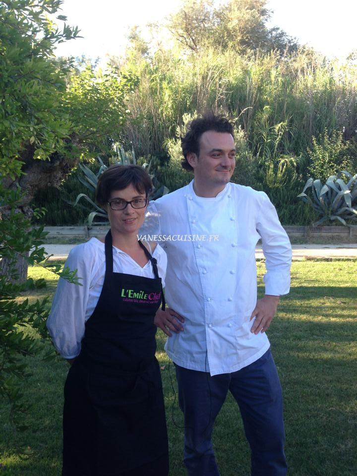 vanessa romano lauréate du concours de cuisine bio