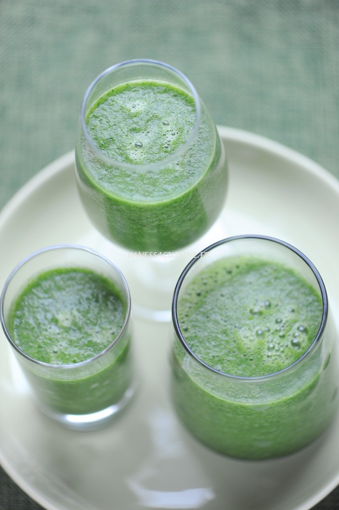 It's almost green right ? Smoothie au kale…kesako ?