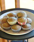 recette de gâteaux au lait de coco, noisettes et chocolat au lait