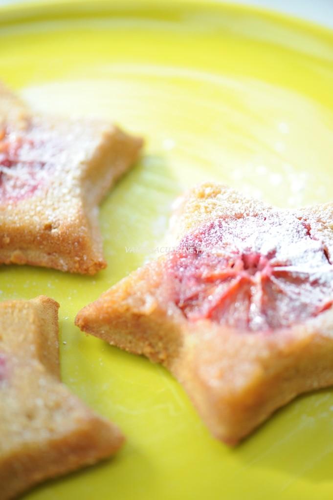 Etoiles à l'orange sanguine (sans gluten) - Upside down blood orange cake (gluten free) - Vanessa Romano photographie et stylisme culinaire