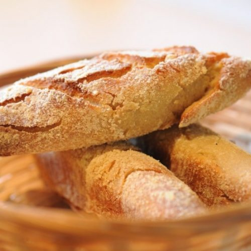 Baguettes croustillantes sans gluten du Café des Mots