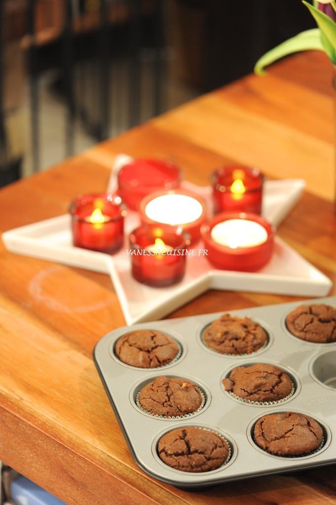 Muffins à la pralinoise et aux noix de pécan