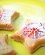 recette de gâteaux sans gluten renversés à l'orange sanguine