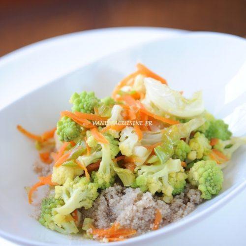 recette de wok de fonio et légumes de saison