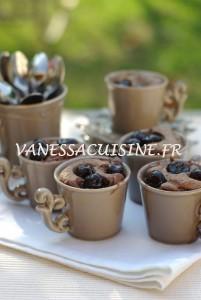 photo de Petits gâteaux au chocolat et cerises amarena