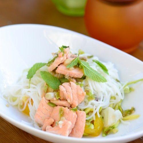 recette de bo bun au saumon