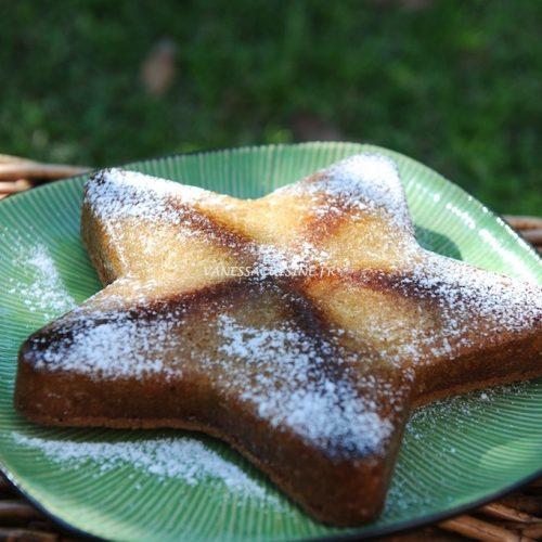 Gâteau au lait de coco et amandes