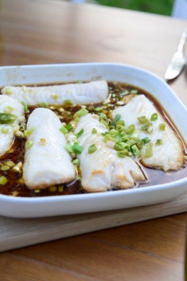 recette Filets de merlu à la japonaise