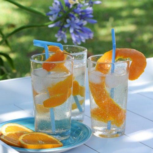 Cocktail de tonic à base de Caraxès de chez Manguin