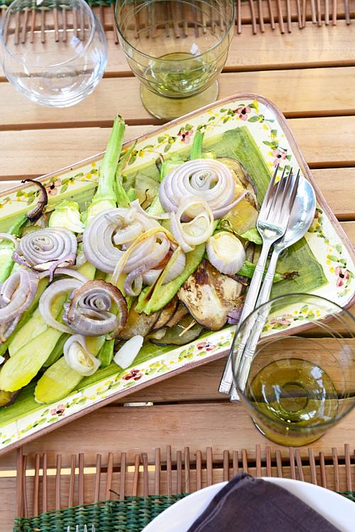 Légumes grillés à l'italienne