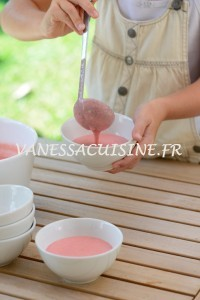 Crème de fraise de Baga