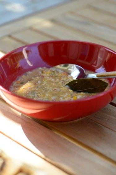 recette de minestrone au riz