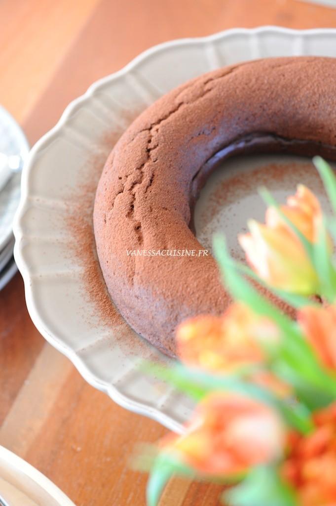 Gâteau moelleux au chocolat et tofu soyeux