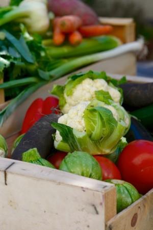 La tarte aux légumes, retour de marché