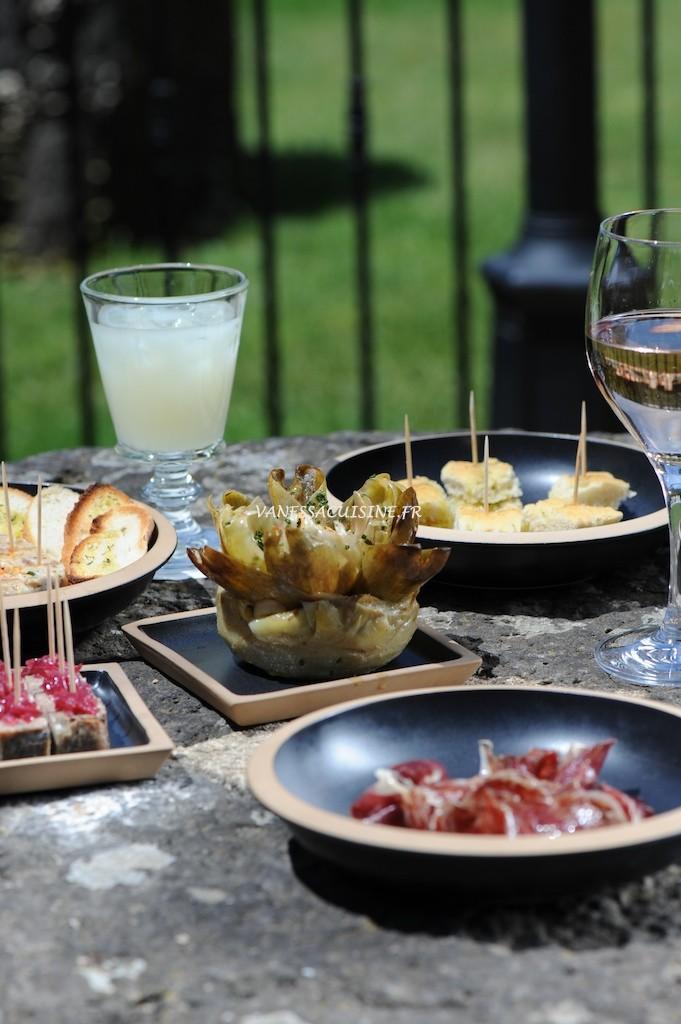 Tapas - Château Valmer - Vanessa Romano-Photographe et styliste culinaire-