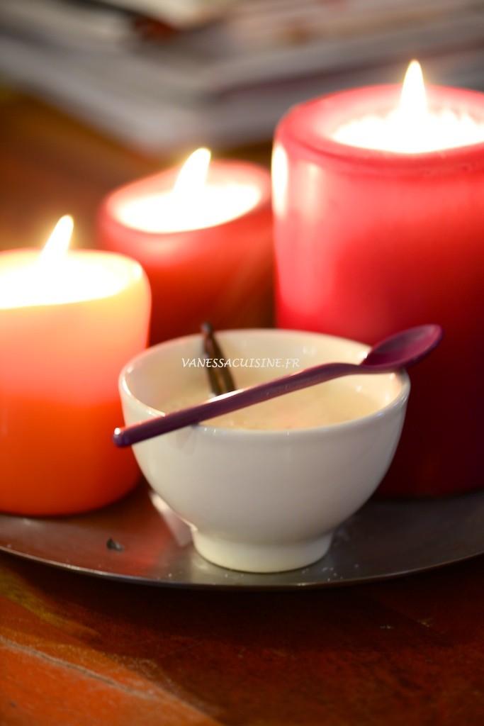 recette de riz au lait d'amande et à la vanille