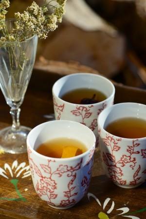 Thé vert aux épices douces et aux agrumes