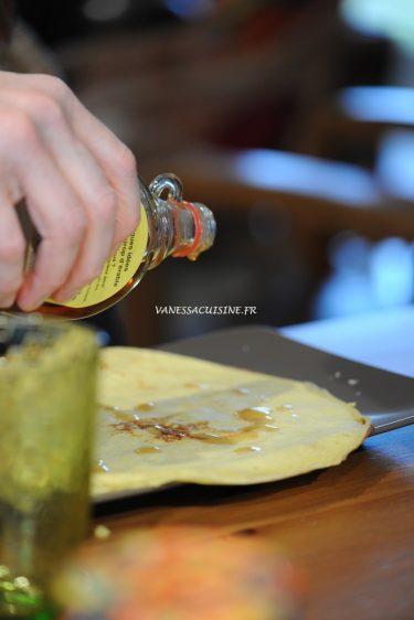 recette de pancake au lait de coco