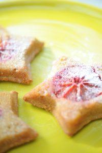 recette de gateau a l orange sanguine en forme d etoile