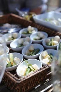 recette de verrine petoncles et asperges