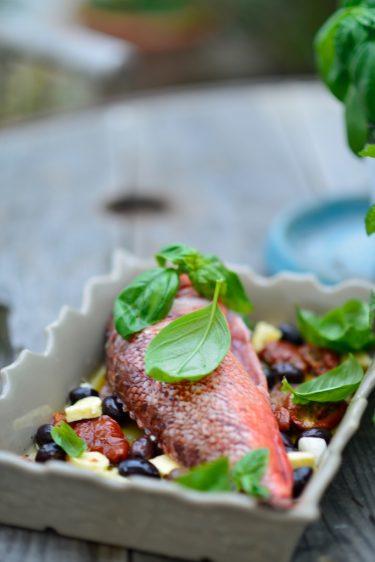recette de chapon cuit au four comme à la Bouillabaisse