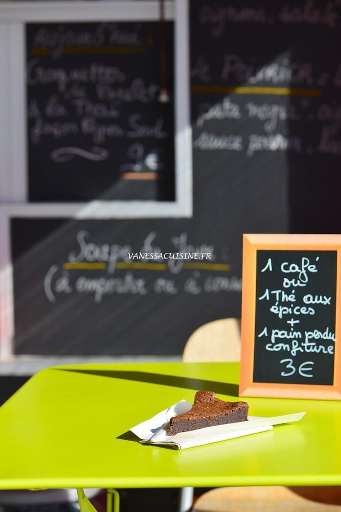Gâteau au chocolat sans gluten du Poivrier nomade, food truck, Fréjus - Vanessa Romano photographe et styliste culinaire (1)