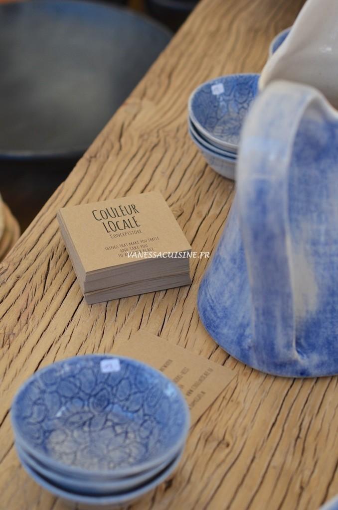 Vaisselle Couleur Locale au Salon Côté Sud Saint Tropez 2015