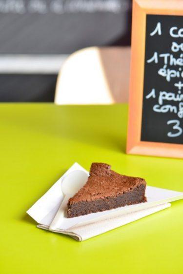 recette de gâteau au chocolat sans gluten du Poivrier nomade