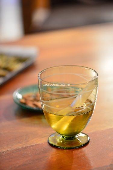 cocktail au cremant et yéti glace a l eau