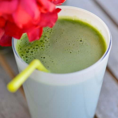 recette de jus vert au concombre celeri pommes