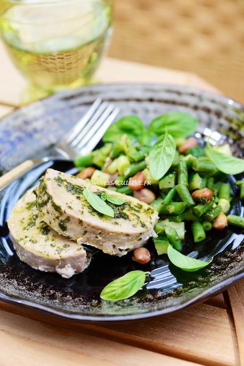 recette de légumes du pistou, thon moelleux