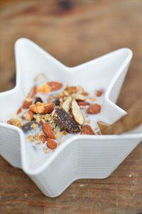 recette rapide de granola d'automne sans gluten
