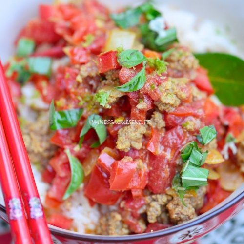recette du hashed beef curry