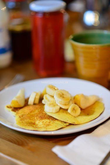 recette de pancakes de chez Noglu
