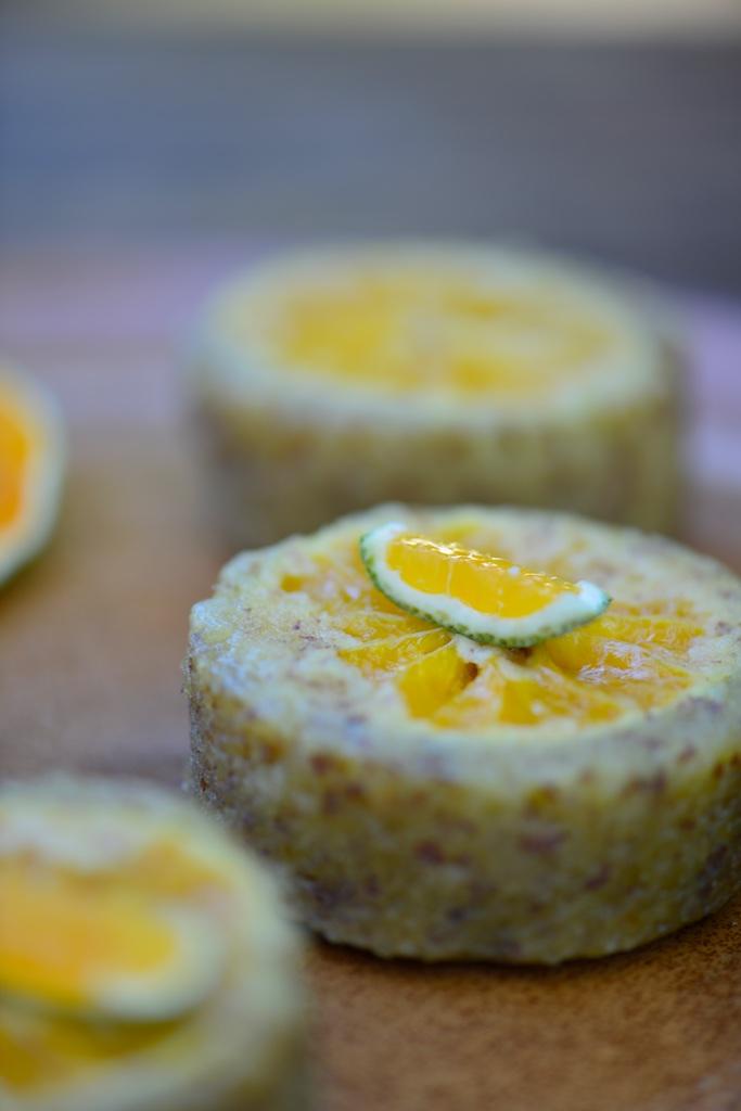 recette de gâteaux renversés à la mandarine satsuma