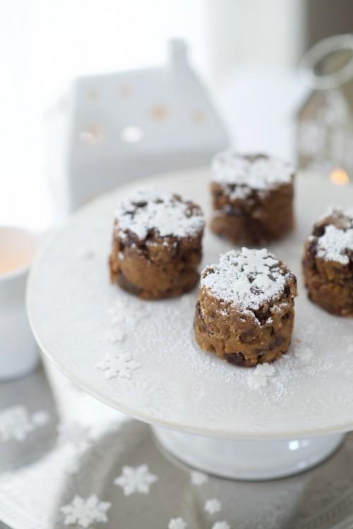 recette de Christmas cakes sans gluten