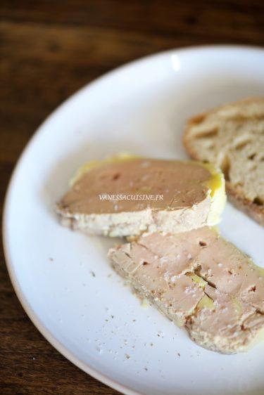 recette simple de terrine de foie gras cuit à la vapeur