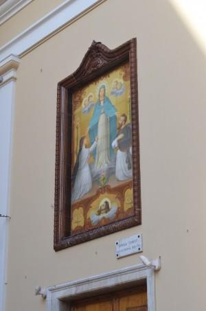 représentation de la vierge à Monaco