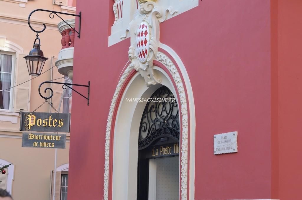 Bureau des postes à Monaco