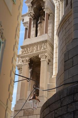 Détail de la Cathédrale à Monaco