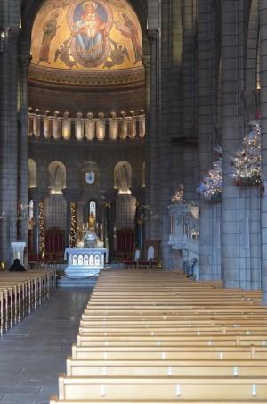Intérieur de la cathédrale à Monaco